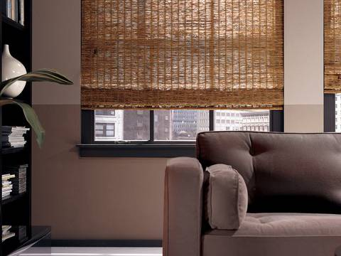 Woven Wood Shades For Windows