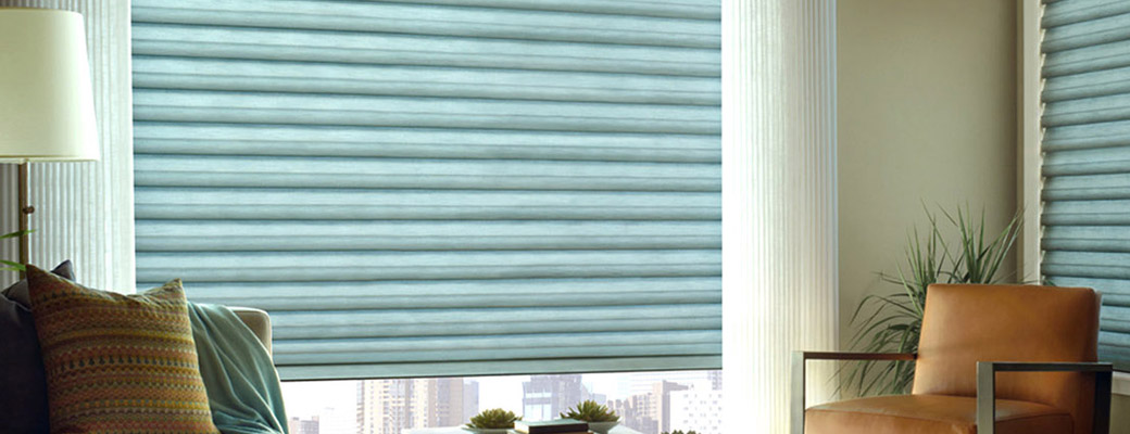 Solera® Soft Shades with Sheer Draperies