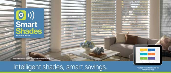 Hunter douglas wallcoverings promotions bloomfield for Hunter douglas motorized blinds troubleshooting