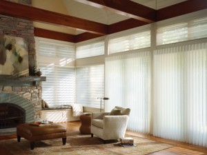 Luminette® Privacy Sheers in the living Room