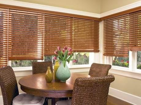 Window Drapery Design Store Hunter Douglas Faux Wood Blinds