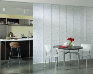 Skyline Window Panels and Room Dividers from Hunter Douglas