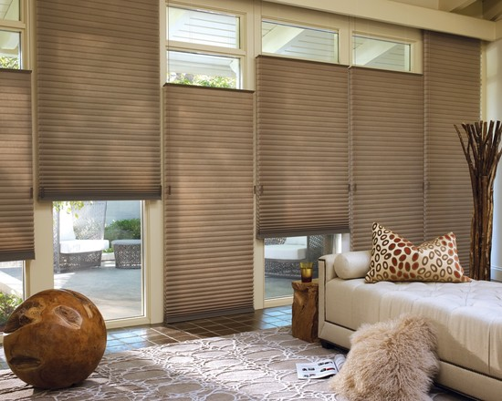 Energy Efficient Honeycomb Shades by Hunter Douglas