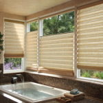 Bathroom-Roman Shades