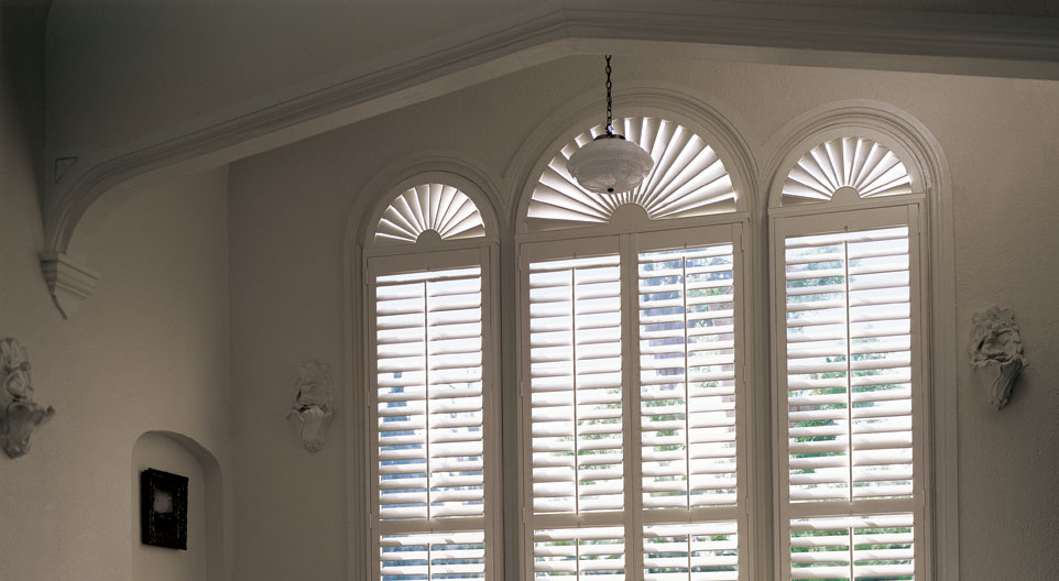 Window Treatments for Specialty Shaped Windows
