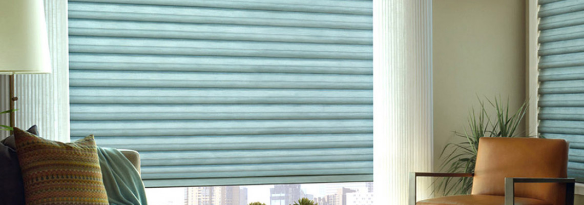 Solera® Soft Shades with Sheer Draperies
